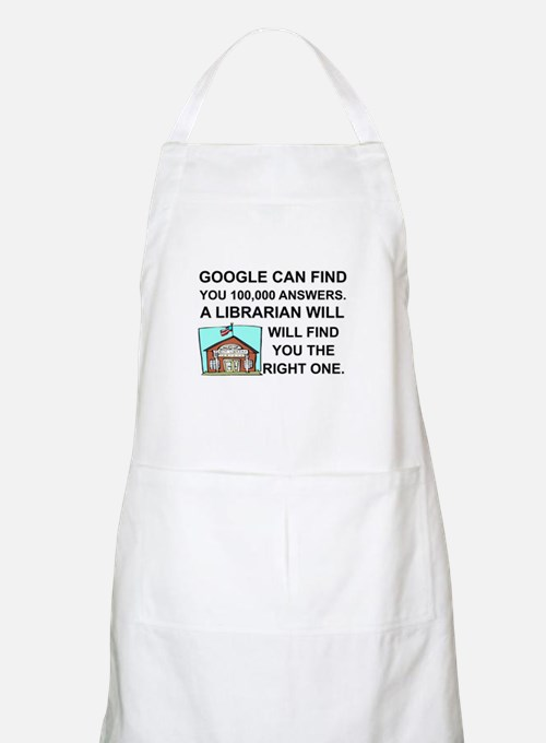 Cute Librarians Apron