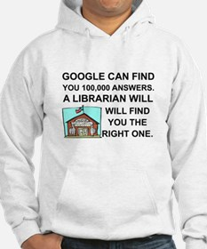 Funny Librarian Hoodie