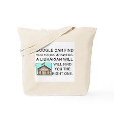 Funny Librarian Tote Bag