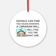 Cute Google Round Ornament