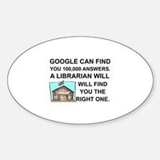 Funny Librarian Decal