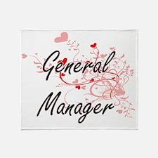 General Manager Artistic Job Design Throw Blanket