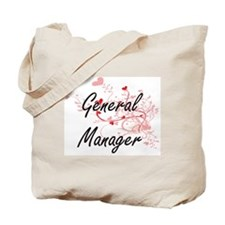 General Manager Artistic Job Design with Tote Bag
