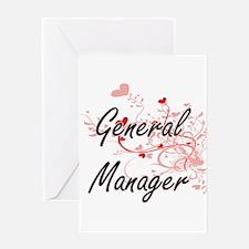 General Manager Artistic Job Design Greeting Cards