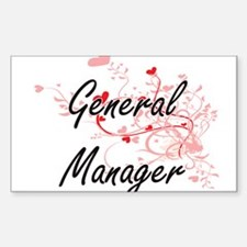 General Manager Artistic Job Design with H Decal