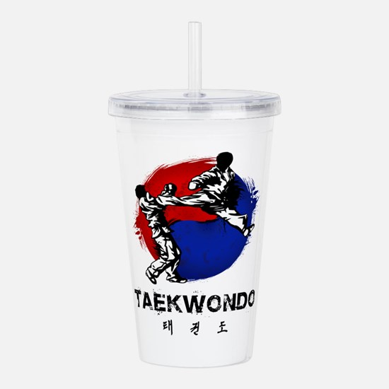Taekwondo Acrylic Double-wall Tumbler