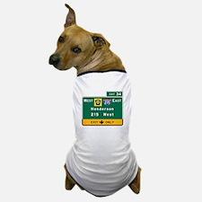 Henderson, NV Road Sign, USA Dog T-Shirt