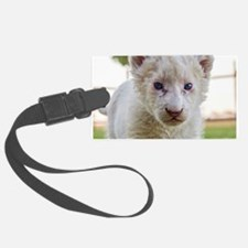 WHITE LION CUB Luggage Tag
