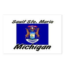 Sault Ste. Marie Michigan Postcards (Package of 8)