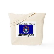 Sault Ste. Marie Michigan Tote Bag
