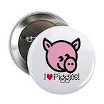 I Love Piggies! Button
