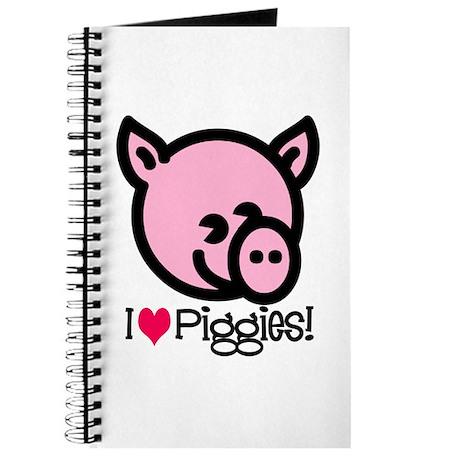 I Love Piggies! Journal