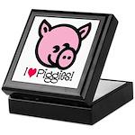 I Love Piggies! Keepsake Box