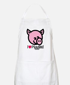 I Love Piggies! BBQ Apron