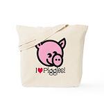 I Love Piggies! Tote Bag