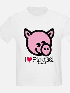 I Love Piggies! T-Shirt