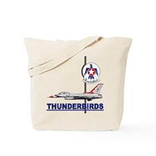 F-16 Thunderbirds Tote Bag