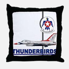F-16 Thunderbirds Throw Pillow