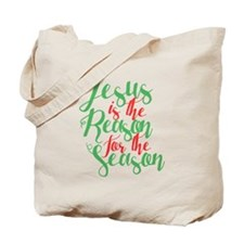 Cute Religious christmas Tote Bag