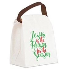 Cute Seasons Canvas Lunch Bag