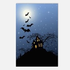 Halloween House Postcards (Package of 8)