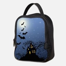 Halloween House Neoprene Lunch Bag