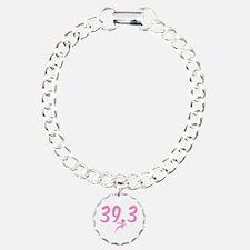 Pink 39.3 Run Walk Bracelet