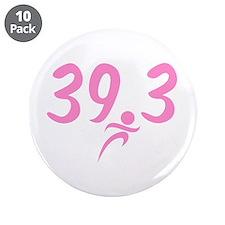"""Pink 39.3 Run Walk 3.5"""" Button (10 pack)"""