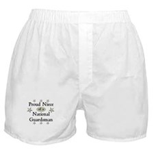 Proud Niece National Guard Boxer Shorts