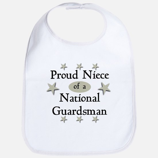 Proud Niece National Guard Bib