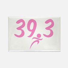 Pink 39.3 Run Walk Magnets