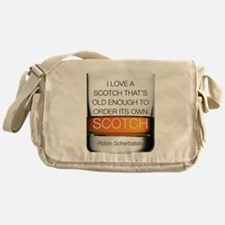 HIMYM Scotch Messenger Bag