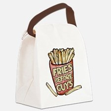 Cute Frying Canvas Lunch Bag