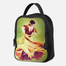 Flamenco Dancer Neoprene Lunch Bag