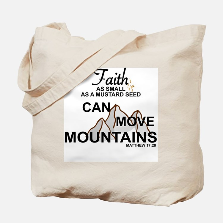 Cute Mustard seed faith Tote Bag
