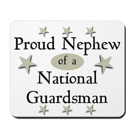 Proud Nephew National Guard Mousepad