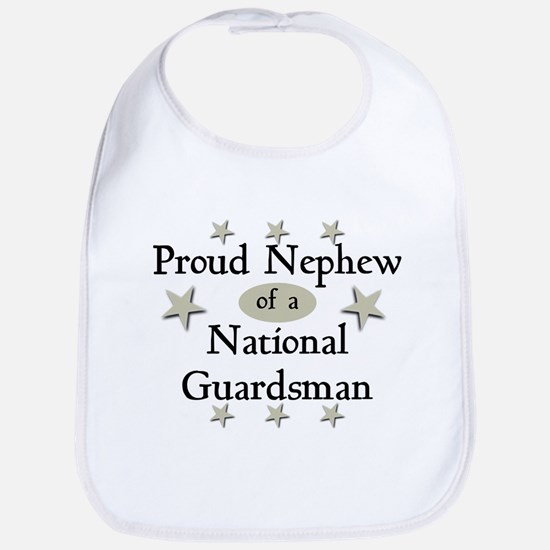 Proud Nephew National Guard Bib