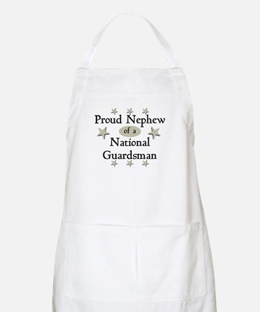Proud Nephew National Guard BBQ Apron