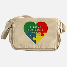 Cute Autism awareness Messenger Bag