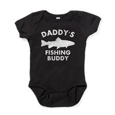 Daddys Fishing Buddy Baby Bodysuit