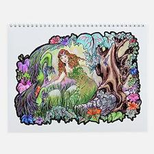 Dragons Of Eden Fantasy Wall Calendar