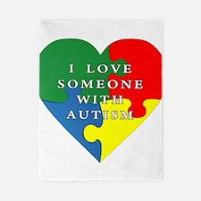 Autism Love Twin Duvet