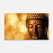 Funny Buddhism Car Magnet 20 x 12