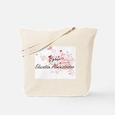 Higher Education Administrator Artistic J Tote Bag