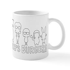 Bob's Burgers Family Outline Mug