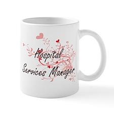 Hospital Services Manager Artistic Job Design Mugs