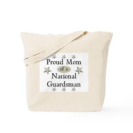Proud Mom National Guard Tote Bag