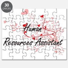 Human Resources Assistant Artistic Job Desi Puzzle
