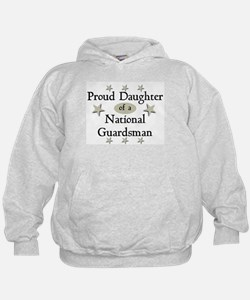 Proud Daughter National Guard Hoodie