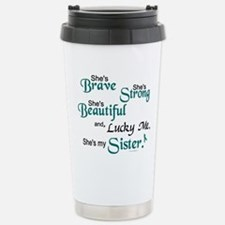 Cool Ovarian Travel Mug